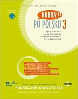 Hurra!!! Po Polsku 3 Teacher's Handbook - фото книги