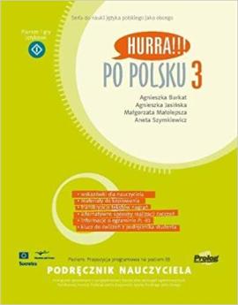 Hurra!!! Po Polsku 3 Teacher's Handbook - фото книги