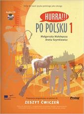 Hurra!!! Po Polsku: Student's Workbook, Vol. 1 (Book & CD) - фото обкладинки книги