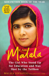 I Am Malala: The Girl Who Stood Up for Education and was Shot by the Taliban - фото обкладинки книги