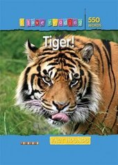 I Love Reading Fact Hounds 550 Words: Tiger! - фото обкладинки книги