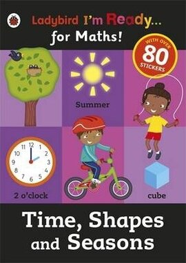 I'm Ready for Maths! Shapes and Seasons . Sticker Workbook - фото книги
