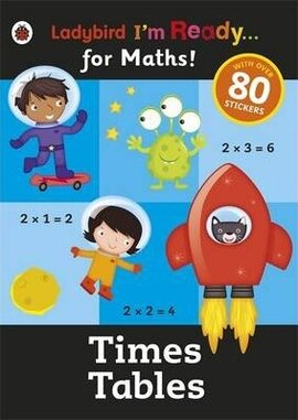 I'm Ready for Maths! Times Tables. Sticker Workbook - фото книги