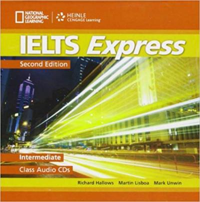 Аудіодиск IELTS Express Intermediate Class Audio CDs