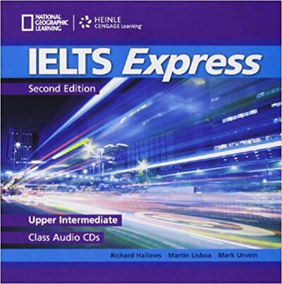 Аудіодиск IELTS Express Upper-Intermediate Class Audio CDs