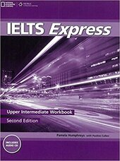 Ielts Express Upper Intermediate: Workbook with Audio CD - фото обкладинки книги