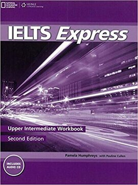 Ielts Express Upper Intermediate: Workbook with Audio CD - фото книги
