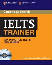 IELTS Trainer Six Practice Tests with Answers and Audio CDs (3) - фото обкладинки книги