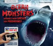 iExplore - Ocean Monsters - фото обкладинки книги