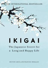 Ikigai: The Japanese secret to a long and happy life - фото обкладинки книги