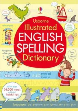 Illustrated English Spelling Dictionary - фото книги