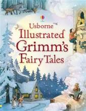 Illustrated Grimm's Fairy Tales - фото обкладинки книги