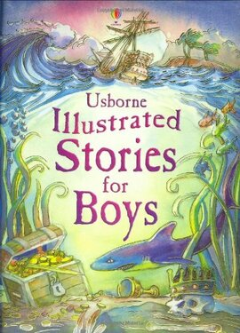 Illustrated Stories For Boys - фото книги