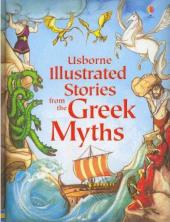 Illustrated Stories from the Greek Myths - фото обкладинки книги