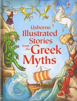 Illustrated Stories from the Greek Myths - фото книги