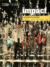 Impact 1. Lesson Planner + Audio CD + TRCD + DVD - фото обкладинки книги