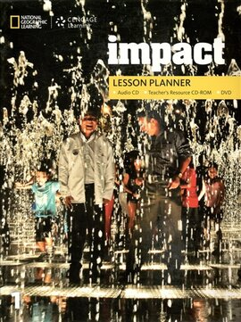 Impact 1. Lesson Planner + Audio CD + TRCD + DVD - фото книги