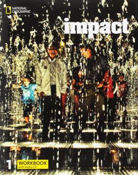 Impact 1. Workbook with Audio CD - фото книги