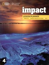 Impact 4. Lesson Planner + Audio CD + TRCD + DVD - фото обкладинки книги