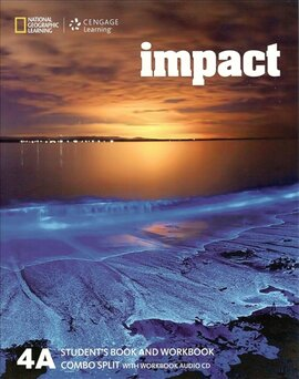 Impact 4. Student's Book Combo A with Workbook + Audio - фото книги