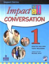 Impact Conversation Level 1 Student's book+CD (підручник+аудіодиск) - фото обкладинки книги