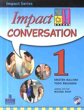 Impact Conversation Level 1 Student's book+CD (підручник+аудіодиск) - фото книги