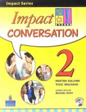 Impact Conversation Level 2 Student's book+CD (підручник+аудіодиск) - фото обкладинки книги