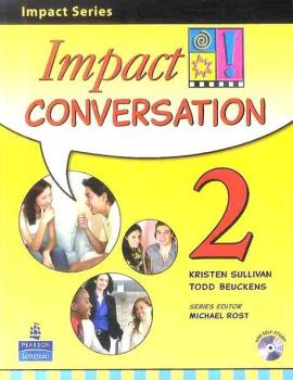 Impact Conversation Level 2 Student's book+CD (підручник+аудіодиск) - фото книги