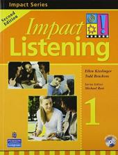 Impact Listening Level 1 Student's book+CD (підручник+аудіодиск) - фото обкладинки книги