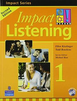 Impact Listening Level 1 Student's book+CD (підручник+аудіодиск) - фото книги