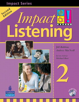 Impact Listening Level 2 Student's book+CD (підручник+аудіодиск) - фото книги