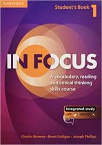 Аудіодиск In Focus 1 Student's Book with Online Resources