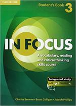 Аудіодиск In Focus 3 Student's Book with Online Resources