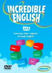 Incredible English: 1 & 2: DVD - фото обкладинки книги
