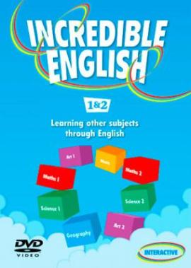 Incredible English: 1 & 2: DVD - фото книги