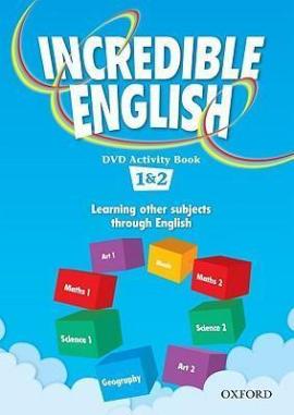 Incredible English 1-2. DVD Activity Book (робочий зошит до відеодиска) - фото книги