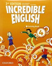 Incredible English 2nd edition 4. Activity Book - фото обкладинки книги