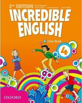 Incredible English 2nd edition 4. Class Book - фото книги