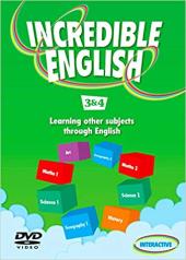 Incredible English: 3 & 4: DVD - фото обкладинки книги