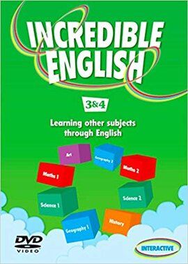 Incredible English: 3 & 4: DVD - фото книги