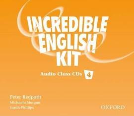Incredible English 4. Class Audio CDs - фото книги