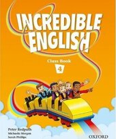 Incredible English 4. Class Book - фото обкладинки книги
