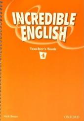 Incredible English 4: Teacher's Book - фото обкладинки книги