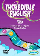 Incredible English: 5 & 6: DVD - фото обкладинки книги
