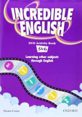 Incredible English 5-6. DVD Activity Book (робочий зошит до відеодиска) - фото обкладинки книги