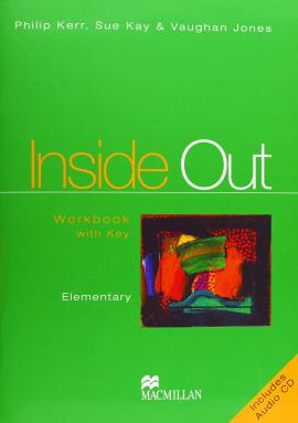 Inside Out Elementary Work Book+CD (робочий зошит+аудіодиск) - фото книги