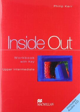 Inside Out Uppermediate Work Book+CD (робочий зошит+аудіодиск) - фото книги