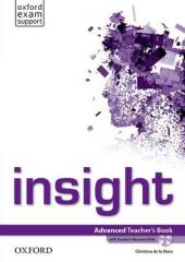 Insight Advanced: Teacher's Book with DVD (книга вчителя) - фото обкладинки книги