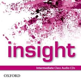 Insight Intermediate: Class Audio CDs (аудіодиск) - фото книги