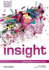 Insight Intermediate: Student's Book (підручник) - фото обкладинки книги